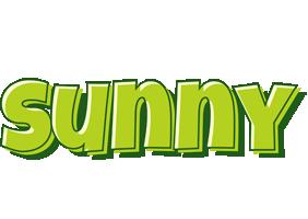 Sunny summer logo