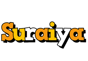 Suraiya cartoon logo