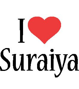 Suraiya i-love logo