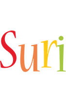 Suri birthday logo