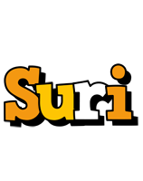 Suri cartoon logo