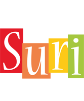 Suri colors logo