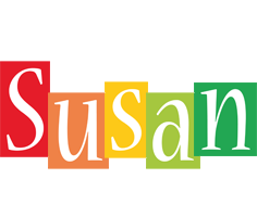 Susan colors logo