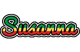 Susanna african logo