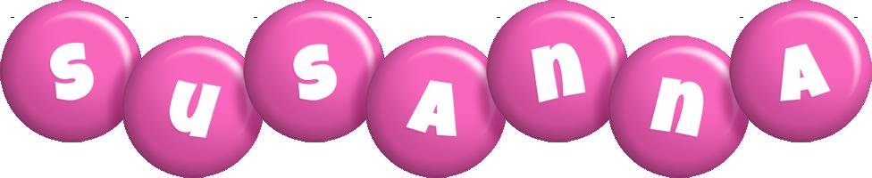 Susanna candy-pink logo