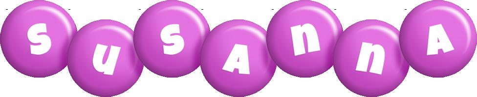 Susanna candy-purple logo