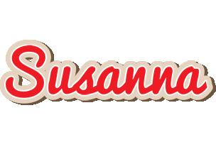 Susanna chocolate logo