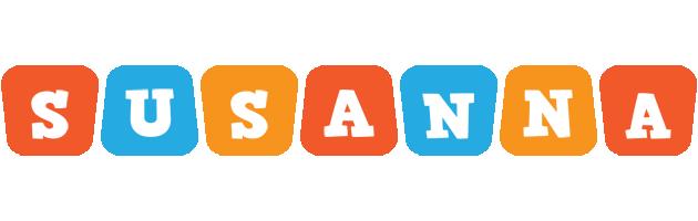 Susanna comics logo