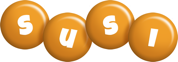 Susi candy-orange logo