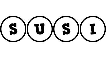 Susi handy logo