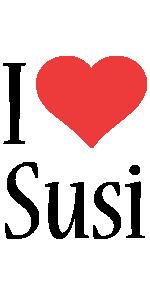 Susi i-love logo