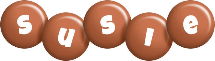 Susie candy-brown logo