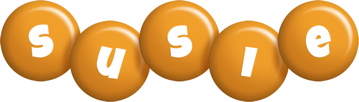 Susie candy-orange logo