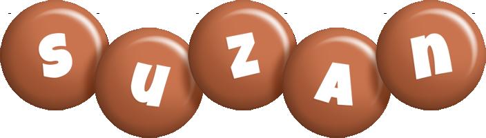 Suzan candy-brown logo