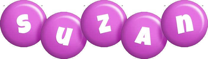 Suzan candy-purple logo