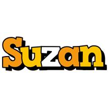 Suzan cartoon logo