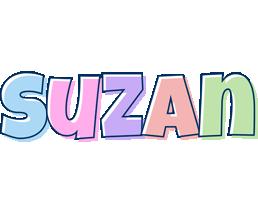 Suzan pastel logo