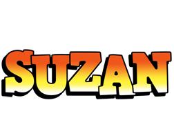 Suzan sunset logo