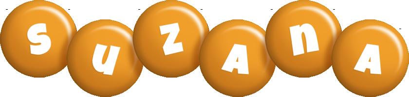 Suzana candy-orange logo