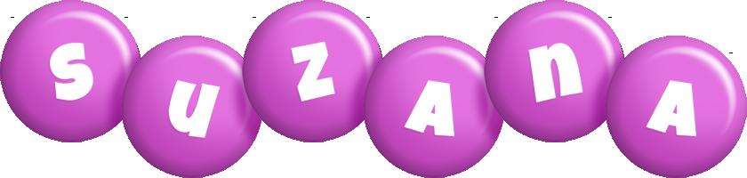 Suzana candy-purple logo