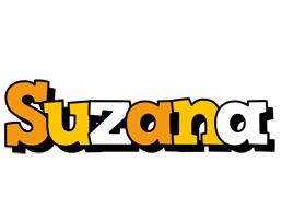 Suzana cartoon logo