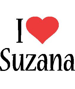 Suzana i-love logo