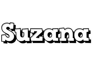 Suzana snowing logo