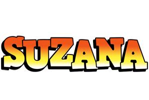 Suzana sunset logo