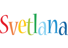 Svetlana birthday logo