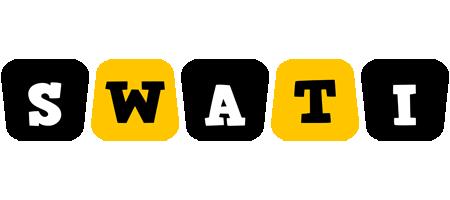 Swati boots logo