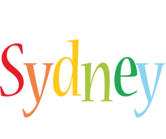 Sydney birthday logo