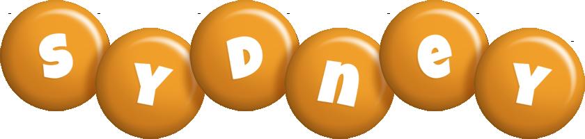 Sydney candy-orange logo