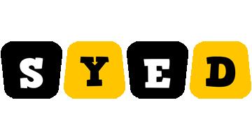 Syed boots logo