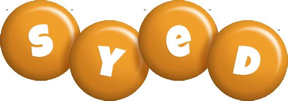 Syed candy-orange logo