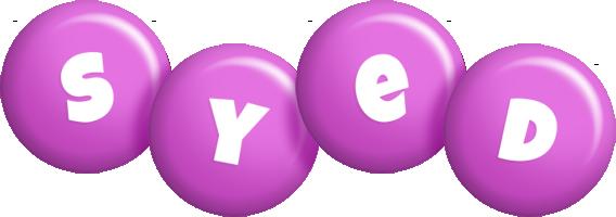 Syed candy-purple logo