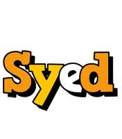 Syed cartoon logo