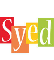 Syed colors logo
