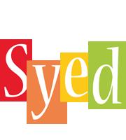 Syed colors logo