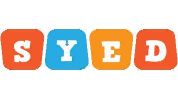 Syed comics logo