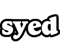 Syed panda logo