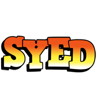 Syed sunset logo