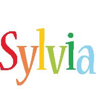 Sylvia birthday logo