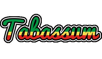 Tabassum african logo