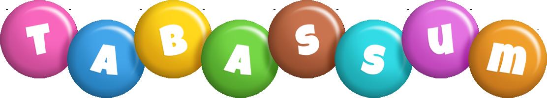 Tabassum candy logo