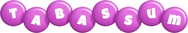Tabassum candy-purple logo