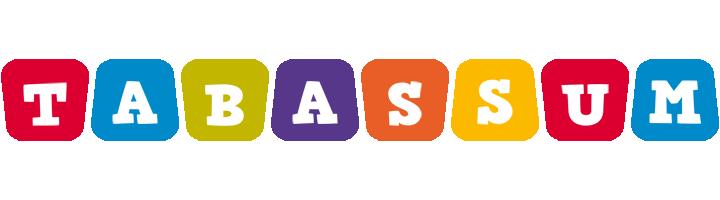 Tabassum kiddo logo