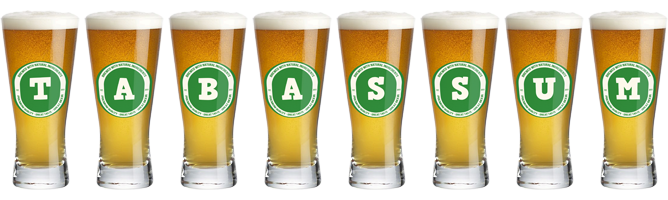 Tabassum lager logo