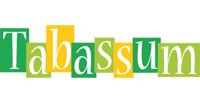 Tabassum lemonade logo