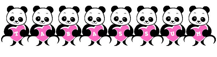 Tabassum love-panda logo