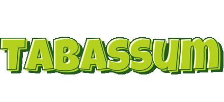 Tabassum summer logo